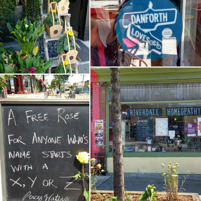 Love to the Danforth! Looking forward to riding by! 11amhellip