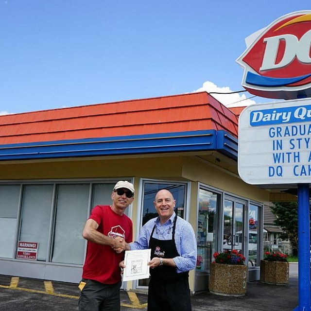 Thank you Dairy Queen for your help in making thehellip