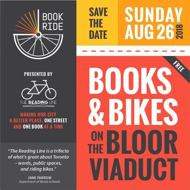Save the date AUG 26 2018  Book Ride 2018hellip