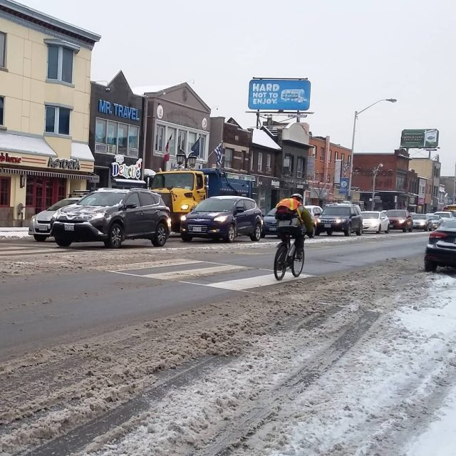 Happy Tuesday Danforth riders! Danforth bikeTO