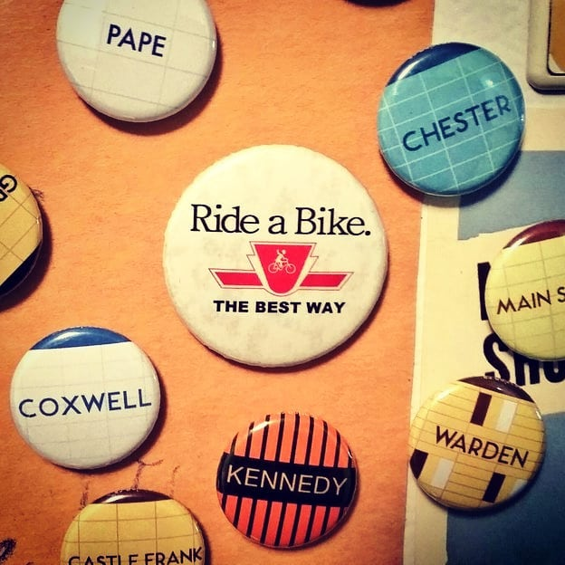Ride a Bike THE BEST WAY bikeTO ttc